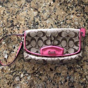 Coach wallet wristlet